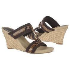 $58.99 Etienne Aigner Whitcomb Sandals Chocolate Women`s Sandals class