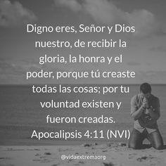 Señor digno eres de recibir la gloria y honra   #DiosEsBueno #DiosEsFiel #DiosEsGrande Imágenes cristianas gratis