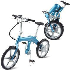 Self-Charging Electric Bike