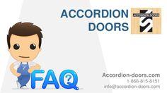 ACCORDION DOORS Accordion-doors.com 1-866-815-8151 info@accordion-doors.com
