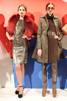 Alice + Olivia RTW Fall 2012 Now these ladies mean business!!!