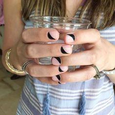 Mas de 50 diseños de uñas decoradas en la media luna o lúnula | Decoración de Uñas - Manicura y Nail Art - Part 2