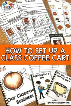 Are you looking to set up a classroom coffee cart or station with your special education students? This blog post will talk you through how and why you should have a classroom coffee shop / cart / station in your classroom. #SpecialEducation #CoffeeCart