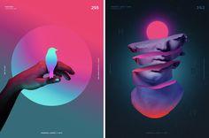 Дизайн в 2018 году: 20 актуальных графических приёмов