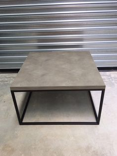Concrete Madison Coffee Table by MattsBenches on Etsy