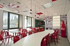 Coca Cola Hellenic headquarters by Stirixis Group, Athens office design