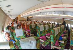 1976? Nope, 2011, aboard a Biman Bangladesh DC-10-30 purchased in the 80s from Singapore Airlines. What a beautiful plane.