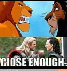 watching Thor and Loki interact with each other is like watching The Lion King all over again. Loki Thor, Loki Marvel, Marvel Dc Comics, Marvel Heroes, Loki Laufeyson, Marvel Quotes, Funny Marvel Memes, Avengers Memes, Loki Funny