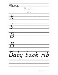 letter t handwriting practice d 39 nealian handwriting practice handwriting worksheets and. Black Bedroom Furniture Sets. Home Design Ideas