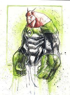Tutano Mole: Super Heróis desenhados a mão