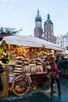 Poland Travel Inspiration - Krakow Christmas market, Poland I took this! Krakow Christmas Market, Christmas Markets Europe, Christmas Travel, Christmas Destinations, Christmas Villages, Christmas Vacation, Christmas Shopping, Places To Travel, Places To Visit