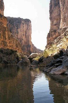 Rio Grande Canyon, Big Bend National Park, Texas