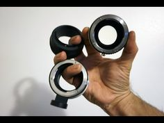 Three ways to use adapters with one lens on APSC Sony a6000 - YouTube
