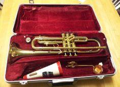 Vintage 1960's Olds Ambassador Trumpet made In Fullerton, CA ~ see demo video