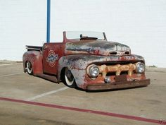 Rat Rod Pickup On Pinterest