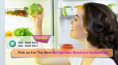 Samsung Refrigerator Service Center in Hyderabad. LG, WHIRPOOL, GODREJ, VIDEOCON Gas Refilling Cooling Compressor Ice Problem Best Home appliance service center in Hyderabad. Our service center guys will provide you one stop service purpose for all of your electronic Best Home appliances. Refrigerator Service Center Hyderabad is the best service good service center in Hyderabad just calls our phone numbers 040-60506610, 60506611, 60506622.