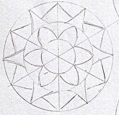 Mandala tutorials. ( Well its sort of like a zentangle! Right?