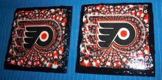 Philadelphia Flyers Slate Coaster Handcrafted by DreamingDesigns, $10.00
