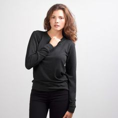 Everlane - The Women's French Terry $40. I love this sweatshirt. classy and comfy