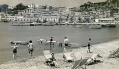 El Port de Sóller hace bastantes años. Vía Maremostra y Fotos Antiguas de Mallorca
