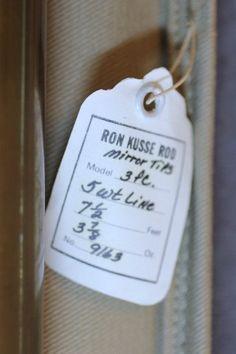 RON KUSSE - MAKER, NY  MODEL 7 1/2' 3PC 2 TIP 5 WT