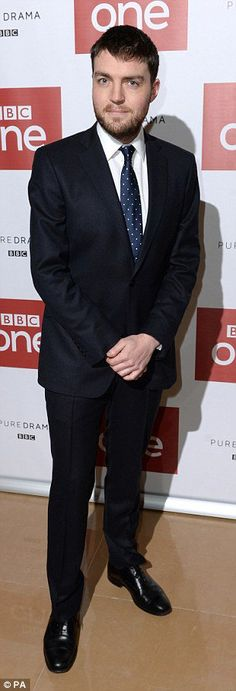 Tom Burke at War & Peace launch. Image courtesy of the BBC.