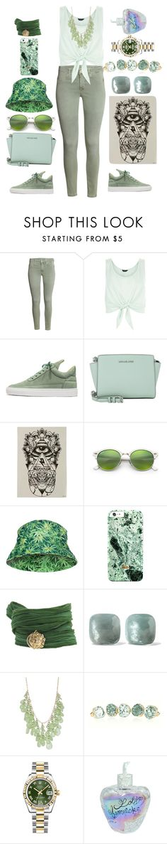 """""""Untitled #365"""" by alex-vujanovic ❤ liked on Polyvore featuring New Look, Filling Pieces, Michael Kors, Ray-Ban, Catherine Michiels, Pomellato, Natasha Accessories, Rolex and Lolita Lempicka"""