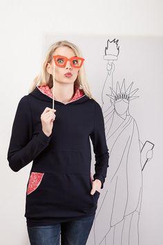 Kapuzenpulli+von+Bergluft+auf+DaWanda.com Etsy, Athletic, Hoodies, Beauty, Sweaters, Jackets, Dresses, Fashion, Woman