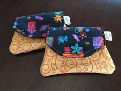 Little Wallet Fabric Handmade by MestizaArt on Etsy only $5 each!!
