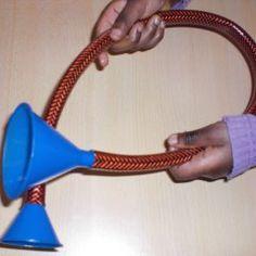 Stethoskop basteln