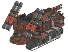 Echidna Rear from Valkyria Chronicles III