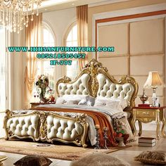 Tempat Tidur Eropa Style Classic