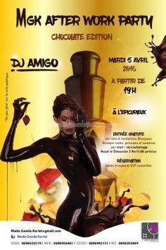 MGK AFTER WORK PARTY * Chocolate Édition Vous aussi intégrez vos événements dans l'Agenda des Sorties de www.bellemartinique.com C'est GRATUIT !  #martinique #Antilles #domtom #outremer #concert #agenda #sortie #soiree
