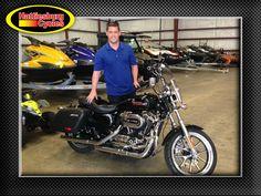 Thanks to Walt Clark from Hattiesburg MS for getting a 2014 Harley-Davidson Sportster 1200 at Hattiesburg Cycles #Harleydavidson
