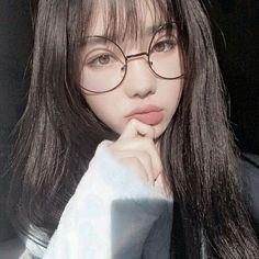 New Makeup Asian Glasses Ideas – Brille Make-up Ulzzang Korean Girl, Cute Korean Girl, Pretty Korean Girls, Uzzlang Girl, Hong Young Gi, Asian Glasses, Wattpad, Girls With Glasses, Girl Glasses