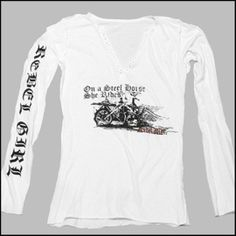 "Designer Shirt-""STEEL HORSE"" - Rebel Girl 