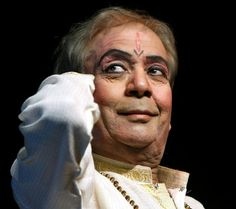 Today's most famous Kathak teacher and dancer Pt Birju Maharaj.