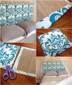 upholstered headboard DIYa