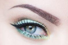motd makeup of the day secrets green makeup grön sminkning