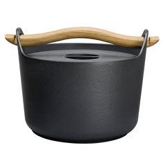 Sarpaneva cast iron pot by Timo Sarpaneva, 1960