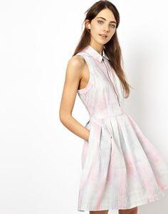 Levi's Zip Front Dress