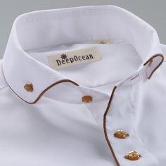 Quality Deepocean Tuxedo Shirt Styles 2019 Camisa Social Masculina Cotton Brand Shirt White chemise homme French slim Fit Shirts with free worldwide shipping on AliExpress Mobile Shirt Collar Styles, Collar Shirts, Collar Types, Men Shirts, Gents Kurta Design, Formal Shirts For Men, Mens Designer Shirts, Branded Shirts, Business Dresses