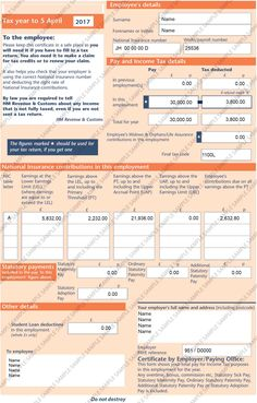 HMRC P60 National Insurance Number, Bank Statement, Number Words, Tax Credits, Income Tax, It Works, Digital, Nailed It