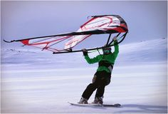 KITEWING WIND-POWERED ACTION SPORT WING   Men's Gear