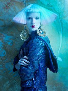 Neil Mota Lenses Eastern Fantasy for Elle Canada (Dec 2012)