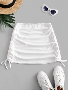 A site with wide selection of trendy fashion style women's clothing, especially swimwear in all kinds which costs at an affordable price. Girls Fashion Clothes, Teen Fashion Outfits, Trendy Fashion, Korean Fashion, Girl Fashion, Girl Outfits, Cute Casual Outfits, Summer Outfits, White Skirts