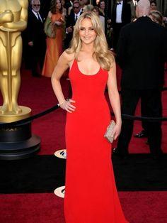Jennifer Lawrence in Calvin Klein...gorgeous.