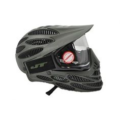 JT Flex-8 Full Cover Thermal Paintball Mask - Olive.