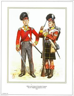 92nd Highland Regiment 1815