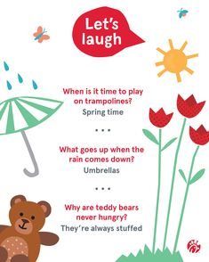 A little laughter goes a long way. Make someone's day by sharing these jokes with your friends and relatives, near and far. Trampoline Springs, Cow Appreciation Day, Cheesy Jokes, Amazing Adventures, Fun Ideas, Laughter, Let It Be, Friends, How To Make